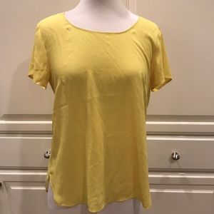 Ann Taylor - Yellow Blouse